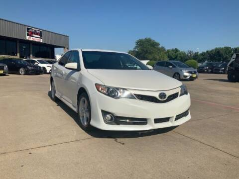 2014 Toyota Camry for sale at KIAN MOTORS INC in Plano TX