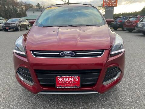 2014 Ford Escape for sale at NORM'S USED CARS INC - Trucks By Norm's in Wiscasset ME