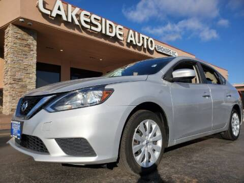 2017 Nissan Sentra for sale at Lakeside Auto Brokers Inc. in Colorado Springs CO