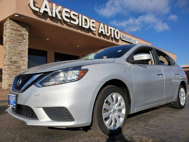 2017 Nissan Sentra for sale at Lakeside Auto Brokers in Colorado Springs CO