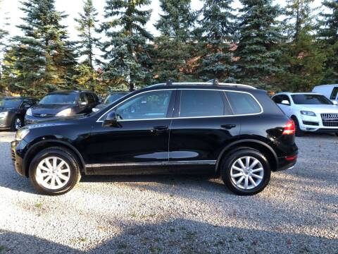 2011 Volkswagen Touareg for sale at Renaissance Auto Network in Warrensville Heights OH