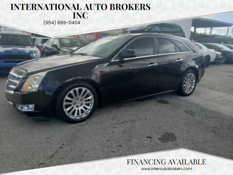 2010 Cadillac CTS for sale at INTERNATIONAL AUTO BROKERS INC in Hollywood FL