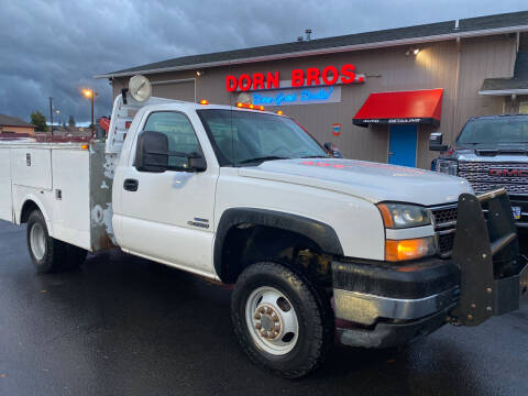 2007 Chevrolet Silverado 3500 CC Classic for sale at Dorn Brothers Truck and Auto Sales in Salem OR