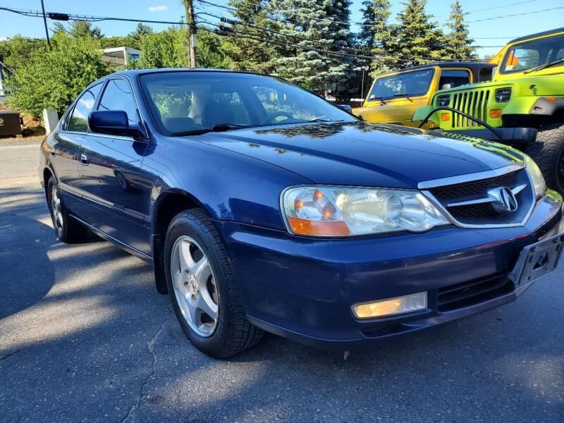 2002 Acura TL for sale at MX Motors LLC in Ashland MA