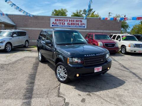2012 Land Rover Range Rover for sale at Brothers Auto Group in Youngstown OH