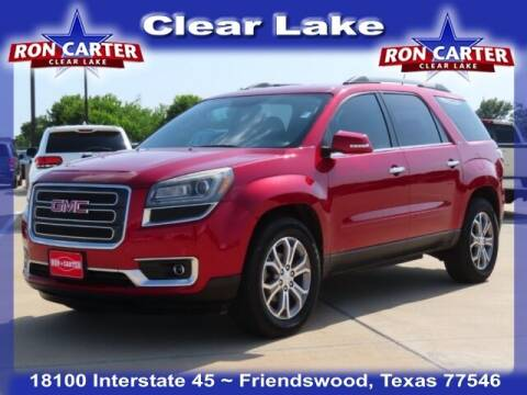 2013 GMC Acadia for sale at Ron Carter  Clear Lake Used Cars in Houston TX