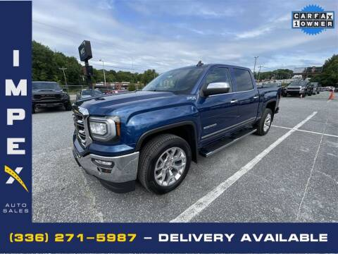 2017 GMC Sierra 1500 for sale at Impex Auto Sales in Greensboro NC