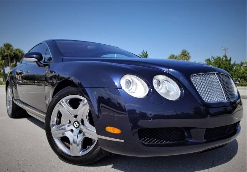2004 Bentley Continental for sale at Progressive Motors in Pompano Beach FL