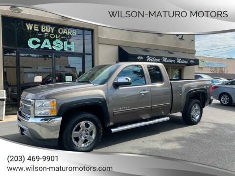 2012 Chevrolet Silverado 1500 for sale at Wilson-Maturo Motors in New Haven CT
