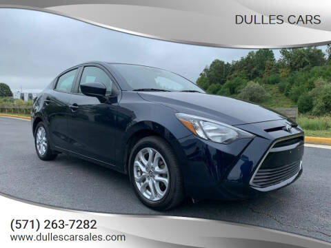 2018 Toyota Yaris iA for sale at Dulles Cars in Sterling VA