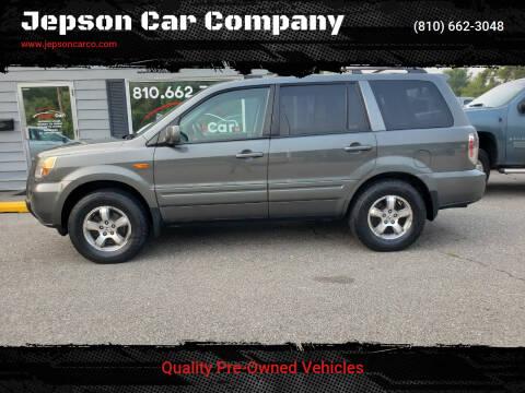 2007 Honda Pilot for sale at Jepson Car Company in Saint Clair MI