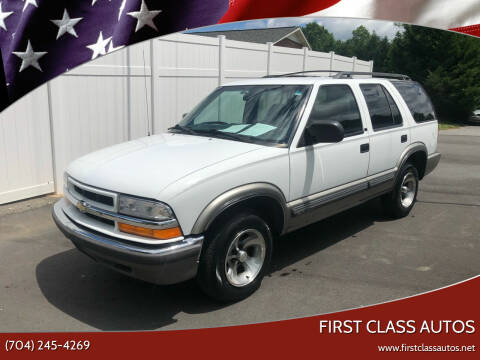 2000 Chevrolet Blazer for sale at First Class Autos in Maiden NC