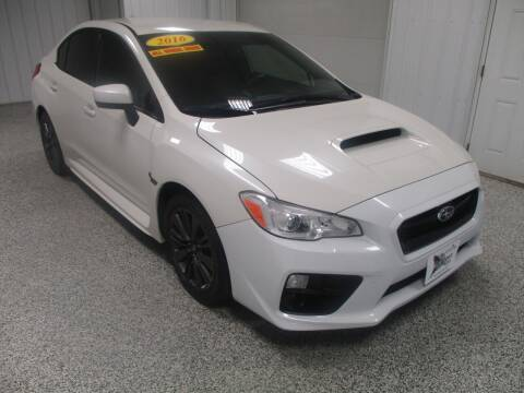 2016 Subaru WRX for sale at LaFleur Auto Sales in North Sioux City SD