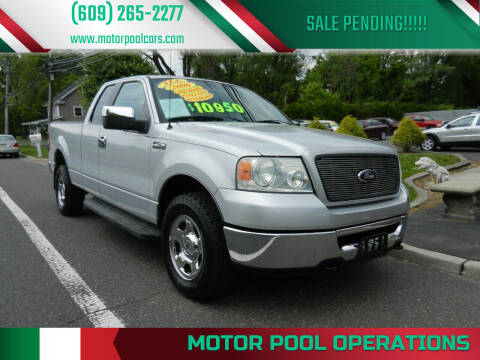 2006 Ford F-150 for sale at Motor Pool Operations in Hainesport NJ
