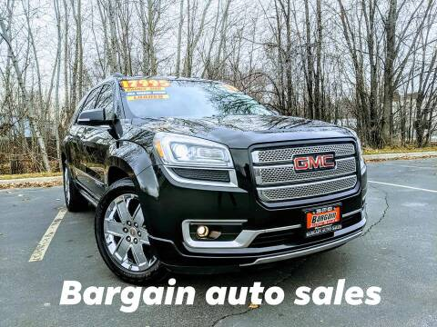 2013 GMC Acadia for sale at Bargain Auto Sales LLC in Garden City ID