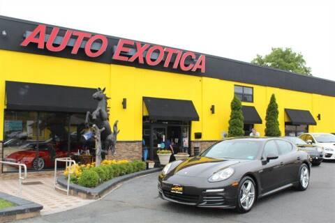2016 Porsche Panamera for sale at Auto Exotica in Red Bank NJ