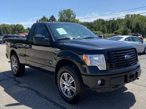 2014 Ford F-150 for sale at Miller Auto Sales in Saint Louis MI