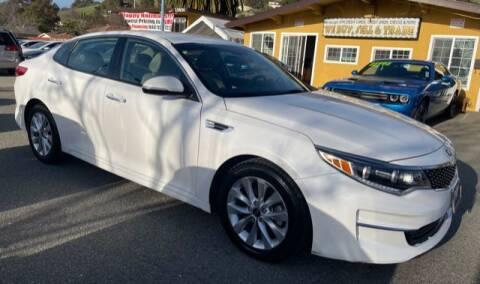 2016 Kia Optima for sale at MISSION AUTOS in Hayward CA