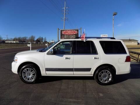2011 Lincoln Navigator for sale at MYLENBUSCH AUTO SOURCE in O` Fallon MO