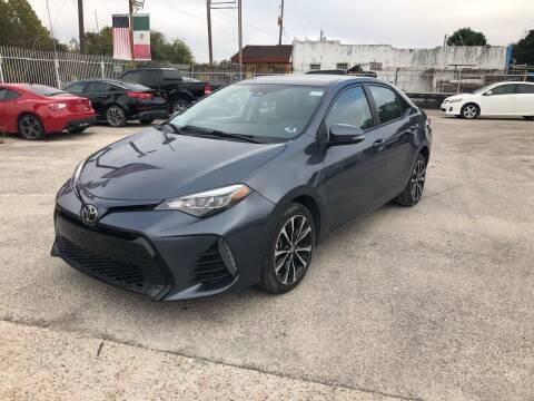 2017 Toyota Corolla for sale at Saipan Auto Sales in Houston TX