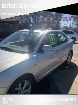 2008 Mazda MAZDA3 for sale at Carfast Auto Sales in Dolton IL