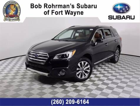 2017 Subaru Outback for sale at BOB ROHRMAN FORT WAYNE TOYOTA in Fort Wayne IN