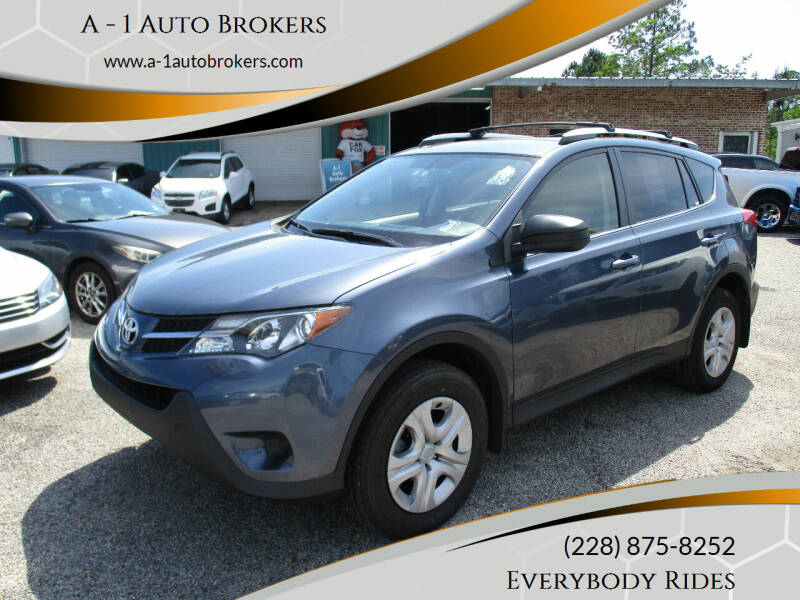 2013 Toyota RAV4 for sale at A - 1 Auto Brokers in Ocean Springs MS