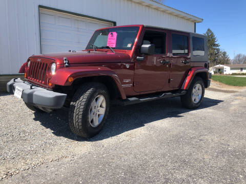 2007 Jeep Wrangler Unlimited for sale at Purpose Driven Motors in Sidney OH