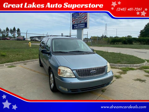 2005 Ford Freestar for sale at Great Lakes Auto Superstore in Pontiac MI