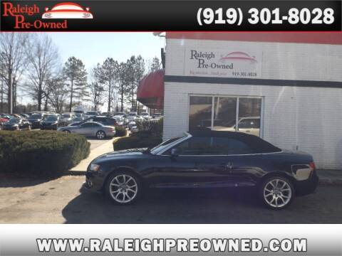 2011 Audi A5 for sale at Raleigh Pre-Owned in Raleigh NC