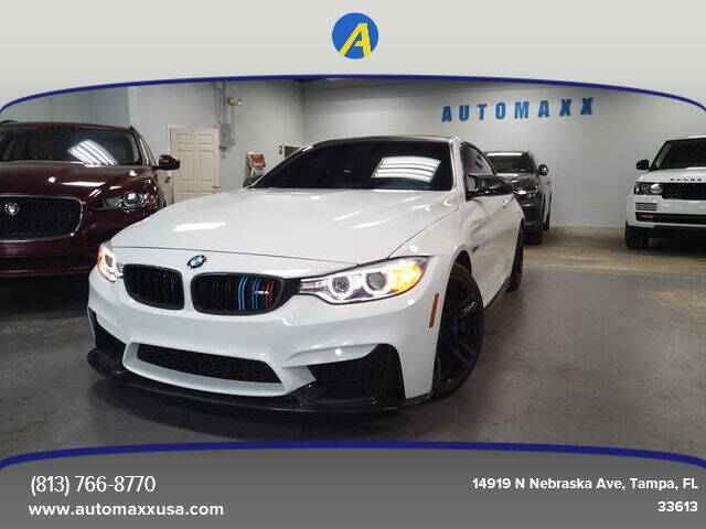 2015 BMW M4 for sale at Automaxx in Tampa FL