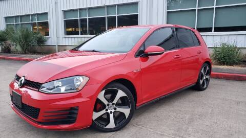 2015 Volkswagen Golf GTI for sale at Houston Auto Preowned in Houston TX