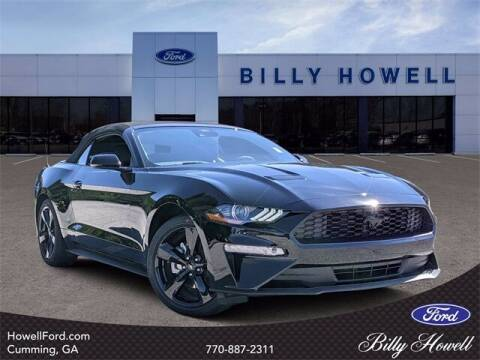 2021 Ford Mustang for sale at BILLY HOWELL FORD LINCOLN in Cumming GA