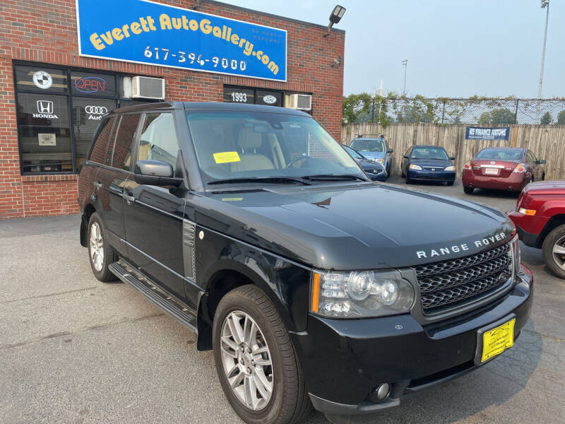 2011 Land Rover Range Rover for sale at Everett Auto Gallery in Everett MA