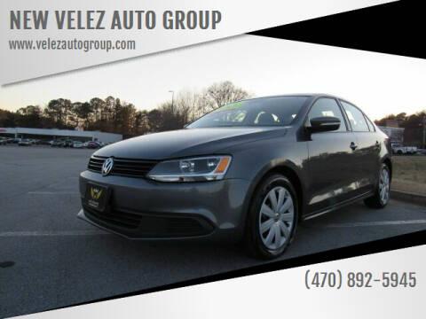 2012 Volkswagen Jetta for sale at NEW VELEZ AUTO GROUP in Gainesville GA