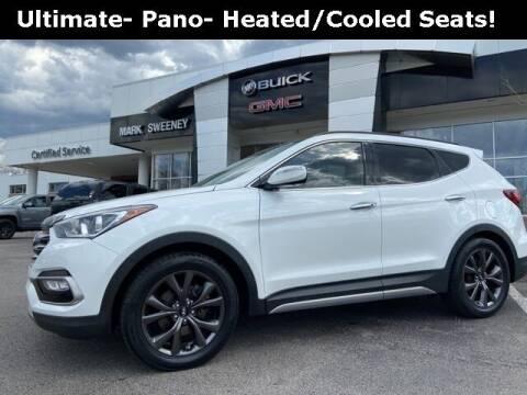 2017 Hyundai Santa Fe Sport for sale at Mark Sweeney Buick GMC in Cincinnati OH
