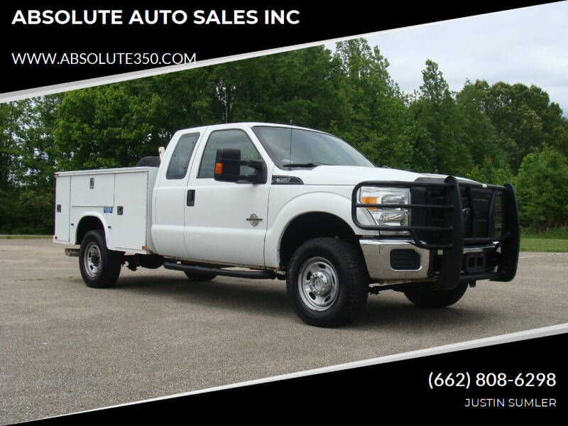 2011 Ford F-350 Super Duty for sale at ABSOLUTE AUTO SALES INC in Corinth MS