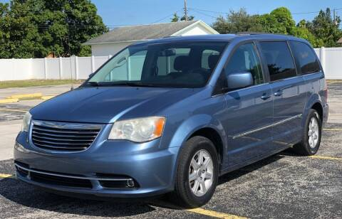 2012 Chrysler Town and Country for sale at Guru Auto Sales in Miramar FL