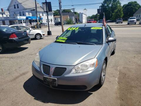 2009 Pontiac G6 for sale at TC Auto Repair and Sales Inc in Abington MA