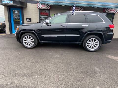 2017 Jeep Grand Cherokee for sale at Sisson Pre-Owned in Uniontown PA