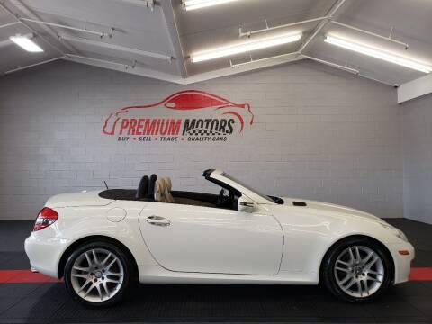 2009 Mercedes-Benz SLK for sale at Premium Motors in Villa Park IL
