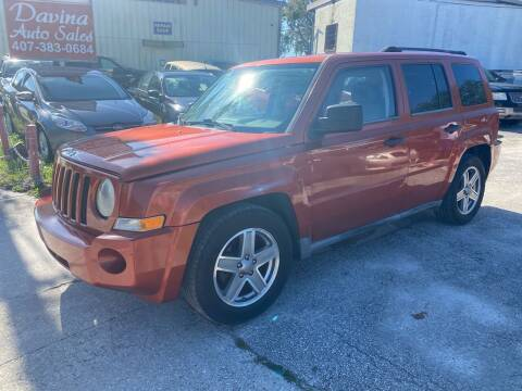 2008 Jeep Patriot for sale at DAVINA AUTO SALES in Orlando FL