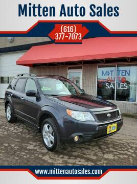 2009 Subaru Forester for sale at Mitten Auto Sales in Holland MI