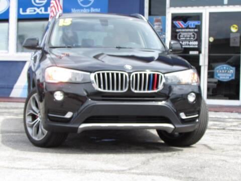 2015 BMW X3 for sale at VIP AUTO ENTERPRISE INC. in Orlando FL