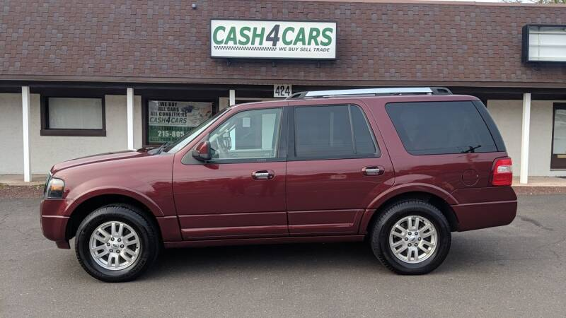 2012 Ford Expedition for sale at Cash 4 Cars in Penndel PA