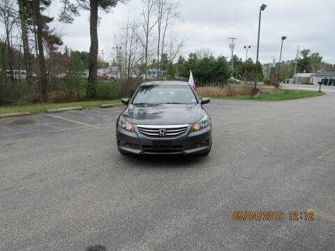 2012 Honda Accord for sale at Heritage Truck and Auto Inc. in Londonderry NH