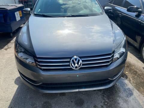 2015 Volkswagen Passat for sale at America Auto Wholesale Inc in Miami FL