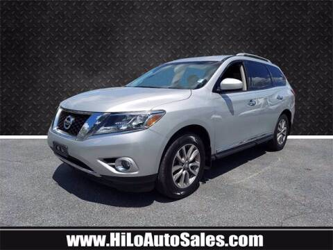 2015 Nissan Pathfinder for sale at Hi-Lo Auto Sales in Frederick MD