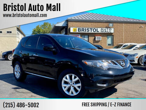 2014 Nissan Murano for sale at Bristol Auto Mall in Levittown PA