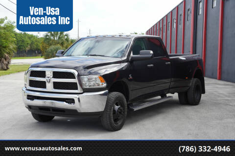2018 RAM Ram Pickup 3500 for sale at Ven-Usa Autosales Inc in Miami FL